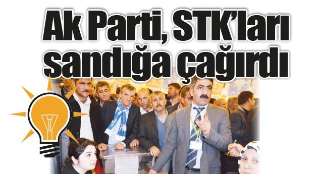 STK yöneticilerinin oylarına başvurulacak