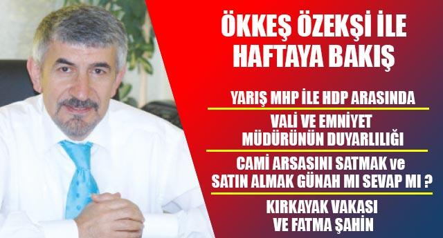 YARIŞ MHP İLE HDP ARASINDA
