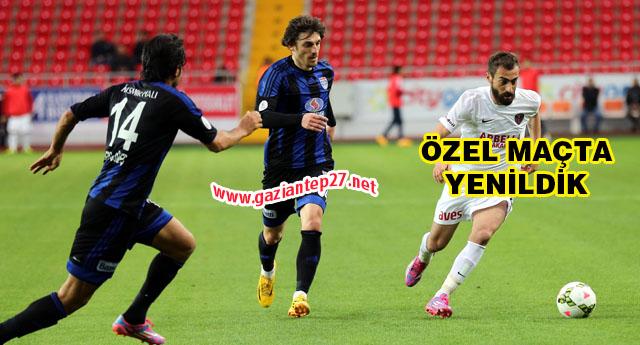 Büyükşehir Mersin'de mağlup 2-1