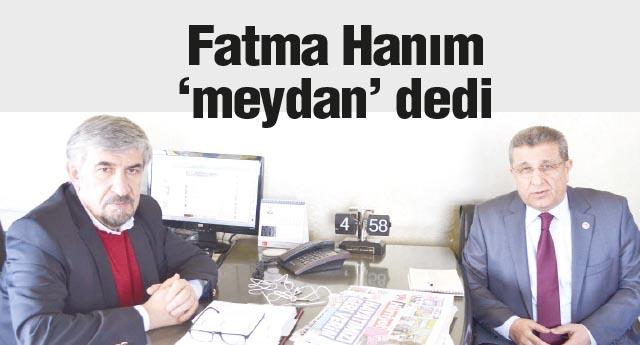FATMA ŞAHİN KARARLARI KENDİSİ VERMELİ