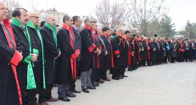 Şehit Savcı için tören düzenlendi