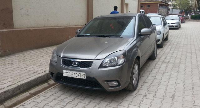 Suriyelilerin araçlarına geçici plaka