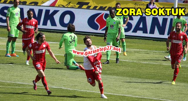 Samsun'a play-off ikramı  0-3