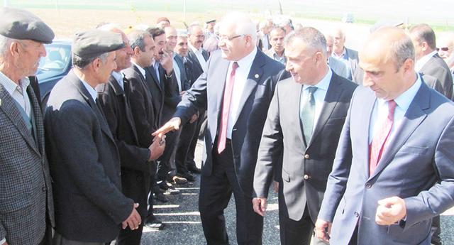 Araban'da Erdoğan'a büyük ilgi