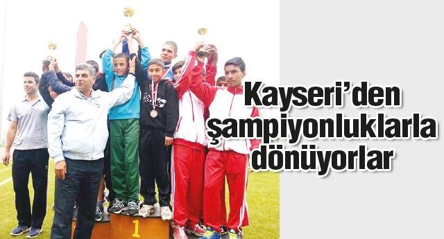 12 madalyanın 7'si Gaziantep'e