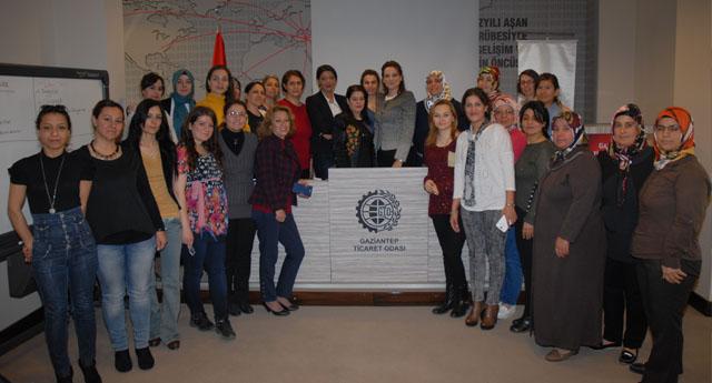 Girişimci kadınlar sahada