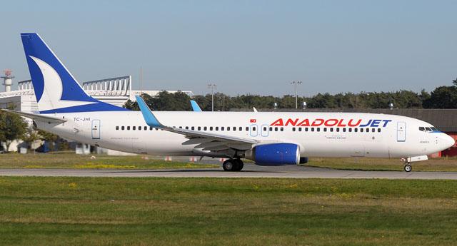Anadolu Jet mağdur etti