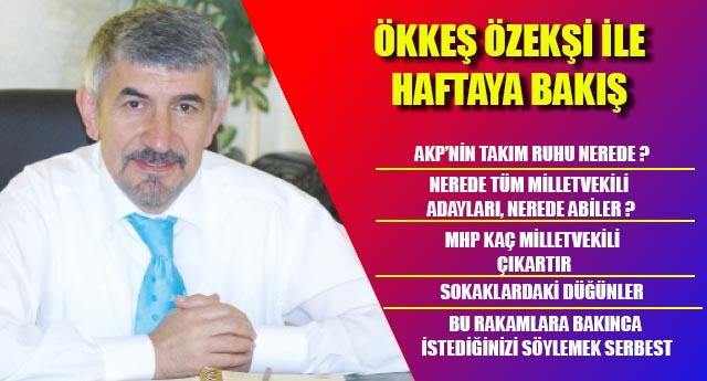 AKP'NİN TAKIM RUHU NEREDE ?