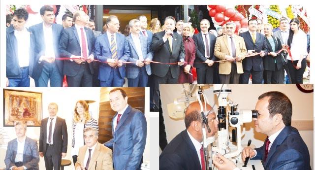 Net Göz Tıp Merkezi açıldı