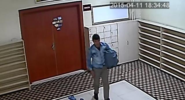 Camii hırsızı yakalandı