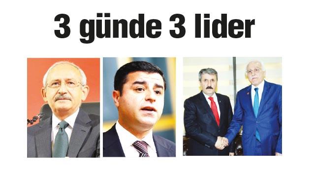 AK PARTİ VE MHP HAZİRAN'DA