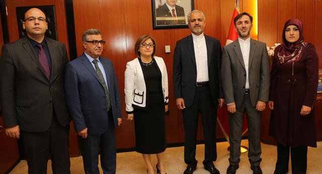 İran'ın Ankara Büyükelçisi'nden ziyaret