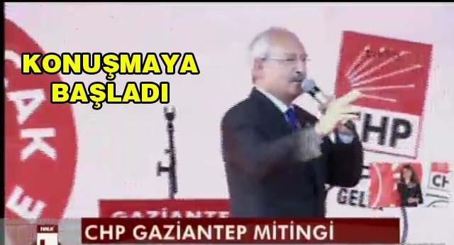 Kılıçdaroğlu geldi