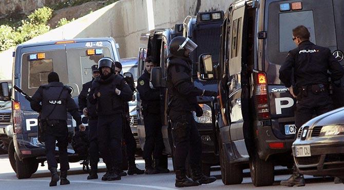 İspanya'da ETA operasyonu