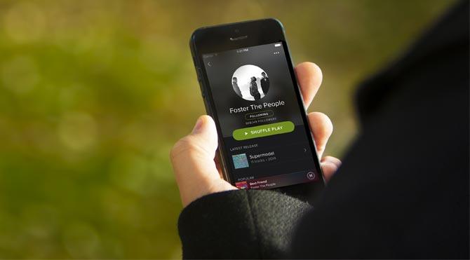 Spotify artık ücretli