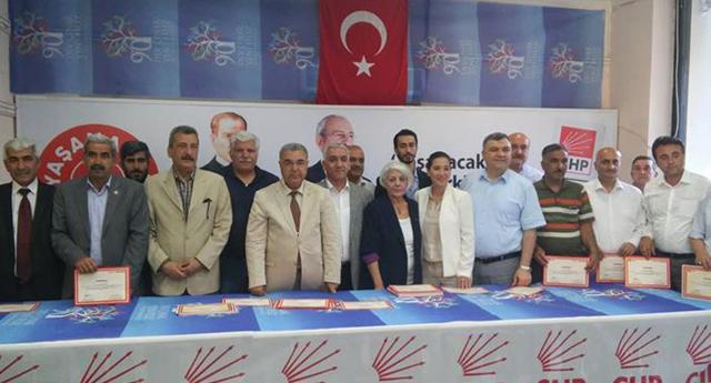 CHP'de siyaset eğitimi