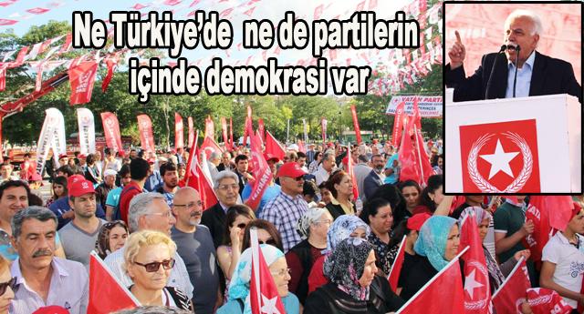 Perinçek CHP'ye yüklendi