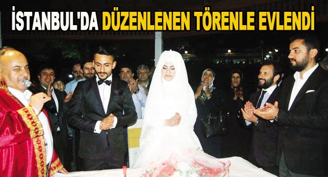 Barış'ta evlendi