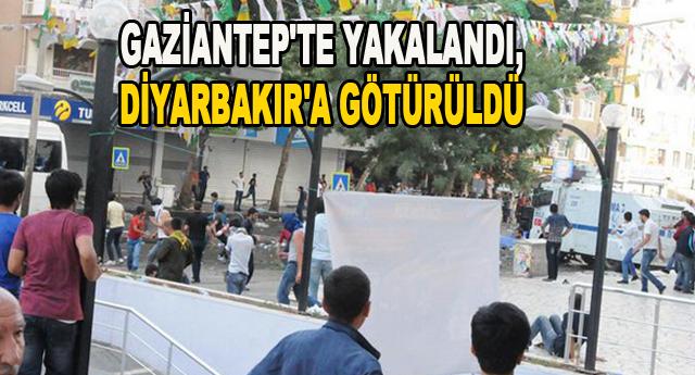 Bombacı Gaziantep'te yakalandı
