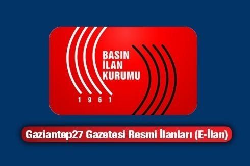 30.04.3015 RESMİ İLAN