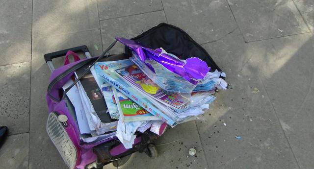 Gaziantep'te şüpheli çanta paniği