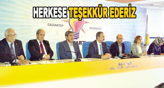 AK Parti mücadeleye yeni başlıyor