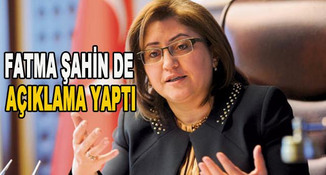 Fatma Şahin de YOK dedi