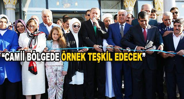 Altunkaya Camisini  Cumhurbaşkanı açtı