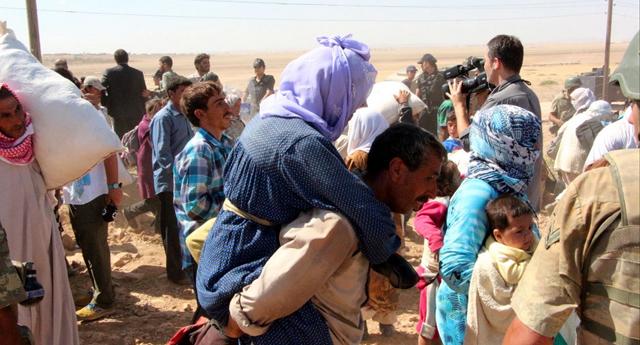 23 bin 350 Suriyeli giriş yaptı