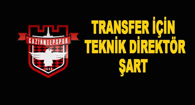 Transfer için önce hoca