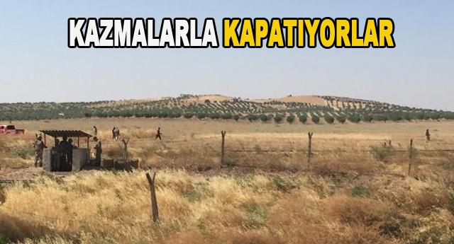 IŞİD Karkamış'a mayın döşedi