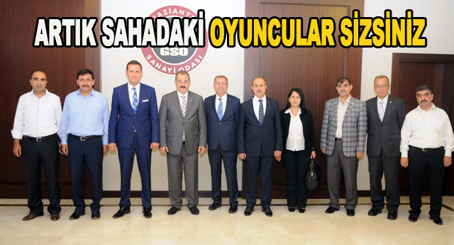 MHP GAZİANTEP MİLLETVEKİLLERİ SANAYİ ODASINI ZİYARET ETTİ