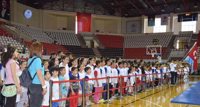Yaz Okulları açılış töreni yapıldı