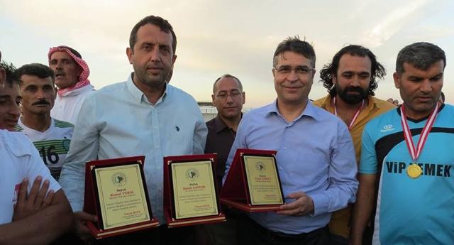 Turnuva Şampiyonu Suriyeli Türkmenler