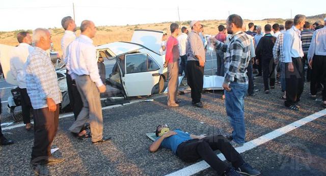 Feci kaza: 1 ölü 10 yaralı