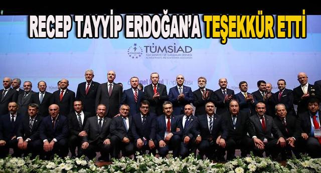 Sorunları Erdoğan'a iletti