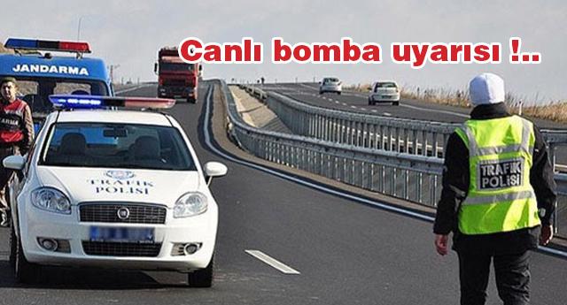MİT'ten 6 il için canlı bomba uyarısı