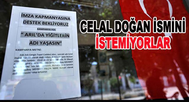 Arıl'da imza kampanyası