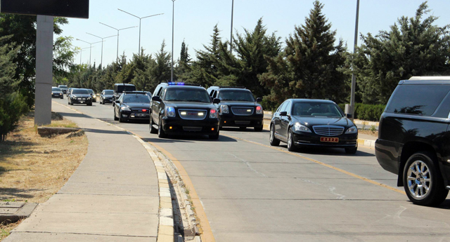 Davutoğlu Gaziantep'ten ayrıldı