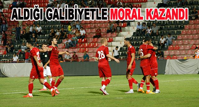 Moral maçı 3-0
