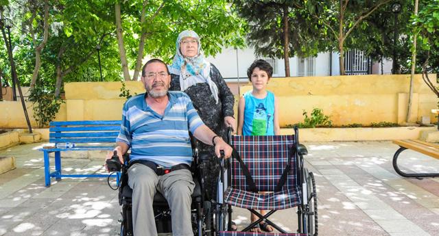 Engelli vatandaşa umut oldular