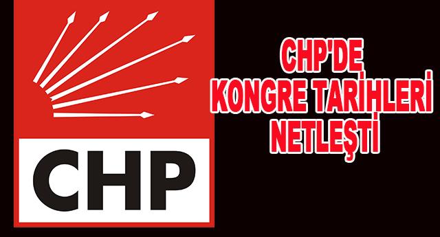 CHP'de kongreler süreci başladı