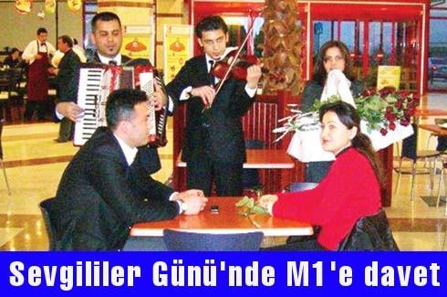 Sevgililer Günü'nde M1'e davet
