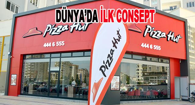 Gaziantep'in ilk Pizza Hut'u açıldı
