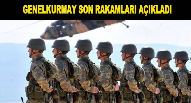 Türk ordusunda kaç asker var?