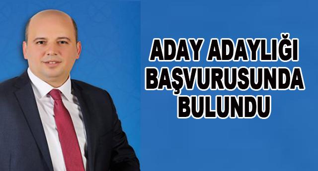 Veli Kıyak Ankara'dan başvurdu
