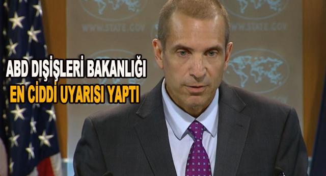 ABD'nin Gaziantep uyarısı