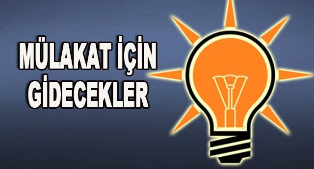 Ak Parti'de 32 kişi Ankara'ya çağrılacak