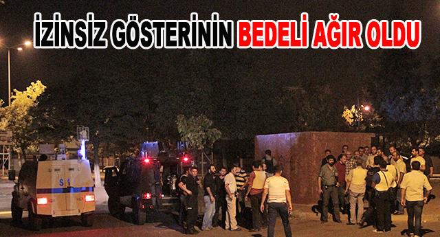 Bir polis yaralandı