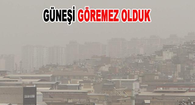 Toz bulutu, Gaziantep'te 3 gündür etkili oluyor